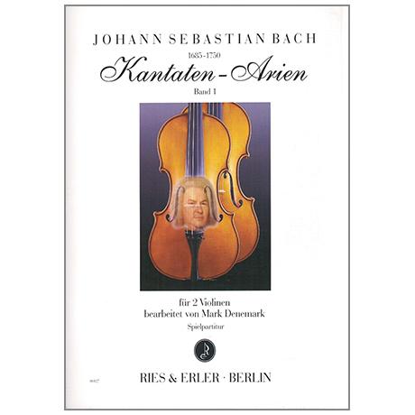 Bach, J.S.: Kantaten-Arien Band 1