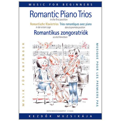 Romantische Klaviertrios für Anfänger (1. Lage)