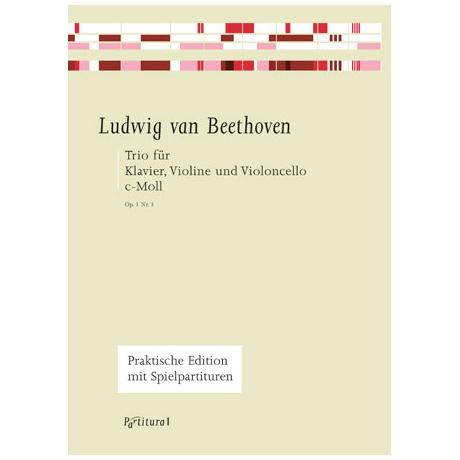 Beethoven, L. v.: Klaviertrio Op. 1/3 c-Moll