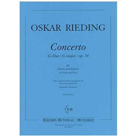 Rieding, O.: Concertino Op. 34 G-Dur