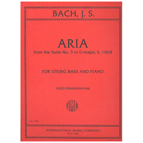 Bach, J. S.: Aria from the Suite D major no. 3