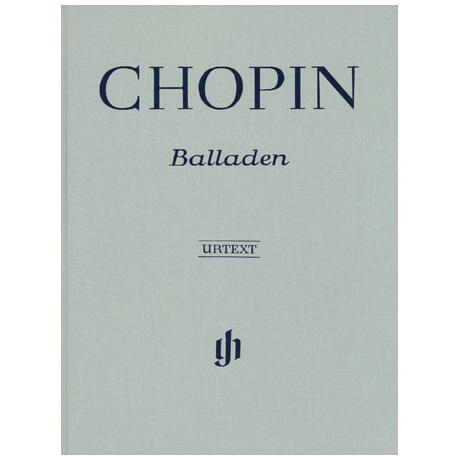 Chopin, F.: Balladen