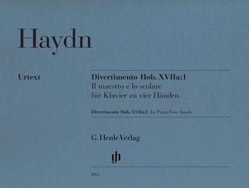Haydn, J.: Divertimento F-Dur Hob. XVIIa:1: Il maestro e lo scolare