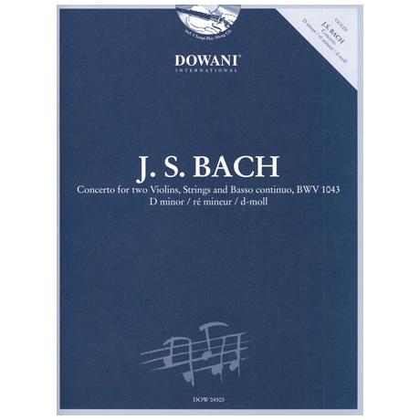 Bach, J.S.: Doppelkonzert d-moll BWV 1043 (+CD)