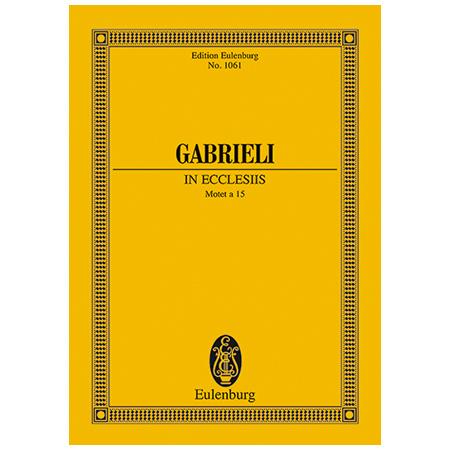 Gabrieli, G.: In ecclesiis