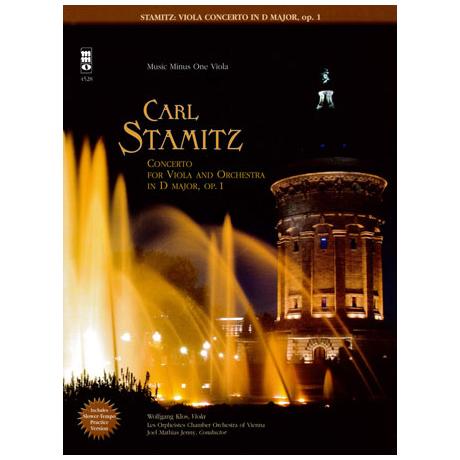 Stamitz, K.: Violakonzert Op. 1 D-Dur (+CD)