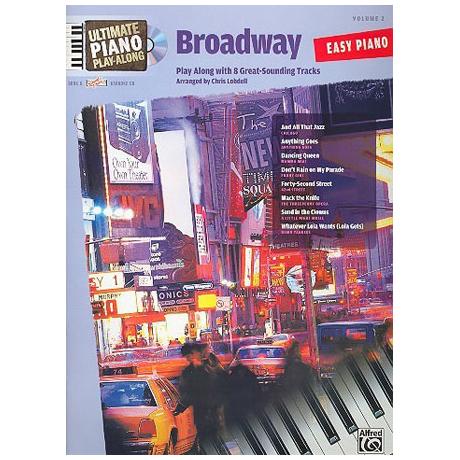 Ultimate Piano Play-Along – Broadway (+CD)