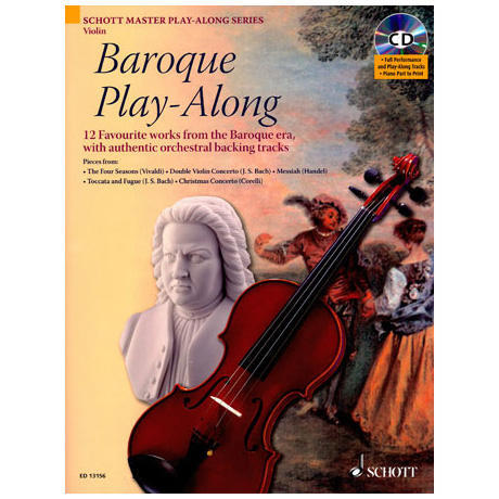 Baroque Play-Along (+CD)