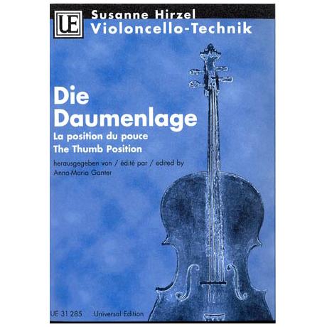 Hirzel, S.: Violoncello-Technik - Die Daumenlage