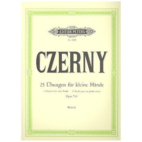Czerny, C.: 25 fortschreitende Übungen für kleine Hände Op. 748