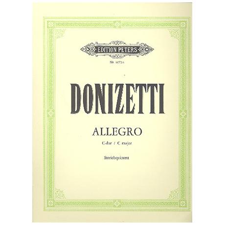 Donizetti, G.: Allegro C-Dur