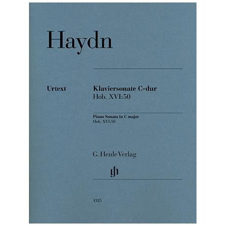 Haydn, J.: Klaviersonate C-Dur Hob. XVI: 50