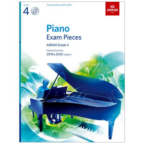 ABRSM: Piano Exam Pieces Grade 4 (2019-2020) (+CD)