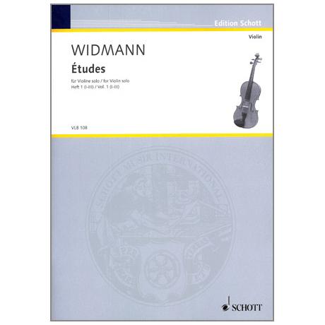 Widmann, J.: Etudes Vol. 1 (I-III)
