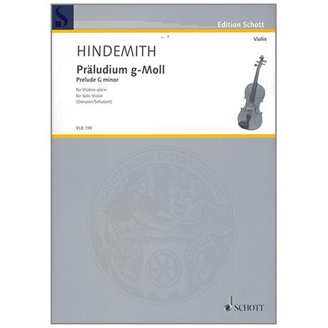 Hindemith, P.: Präludium g-Moll