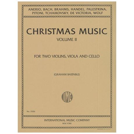Weihnachtsmusik für Streichquartett Band 2