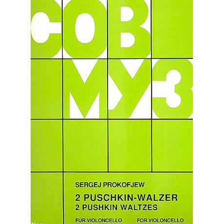 Prokofjew, S.: 2 Puschkin-Walzer Op. 120
