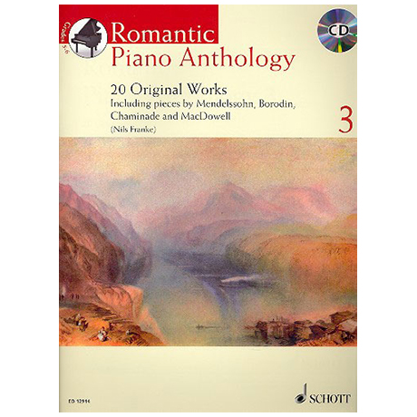 Romantic Piano Anthology – Band 3 (+CD)