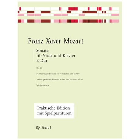 Mozart, F. X.: Violasonate Op- 19, E-Dur