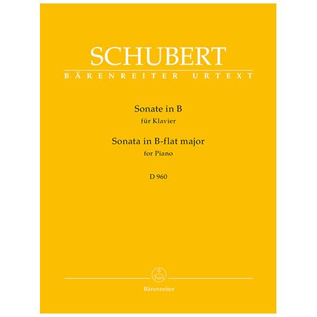 Schubert, F.: Sonate B-Dur D 960