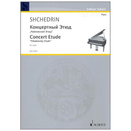 Schtschedrin, R.: Concert Etude