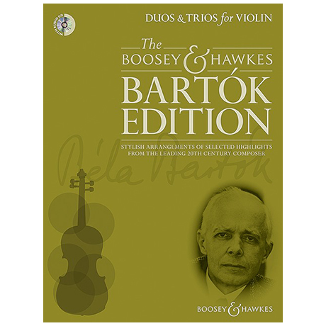 Bartók, B.: Duos und Trios (+CD)