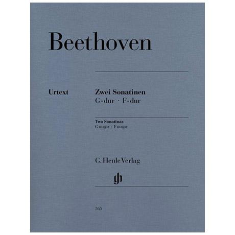 Beethoven, L. v.: 2 Sonatinen für Klavier F-Dur und G-Dur Anh. 5