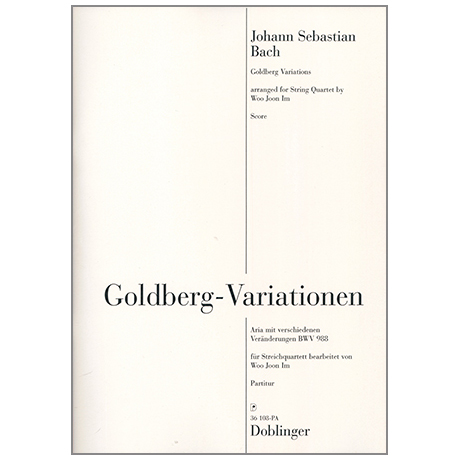 Bach, J. S.: Goldberg-Variationen