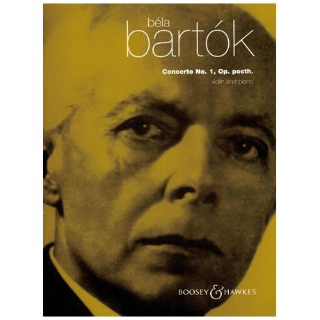 Bartók, B.: Violinkonzert Nr. 1 Op. posth.