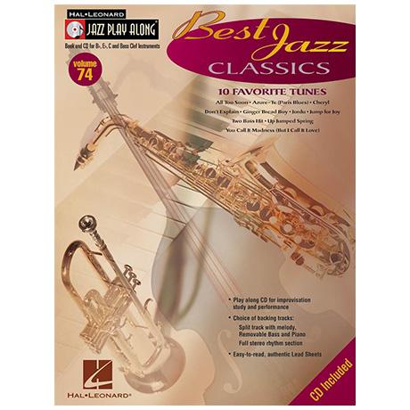 Best Jazz Classics (+CD)