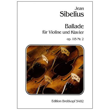 Sibelius, J.: Ballade Nr. 2 Op. 115