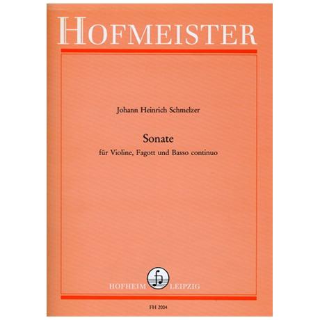 Schmelzer, J.: Sonate