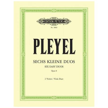 Pleyel, I. J.: 6 kleine Duos Op. 8