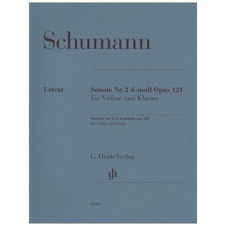 Schumann, R.: Violinsonate Nr. 2 Op. 121 d-Moll