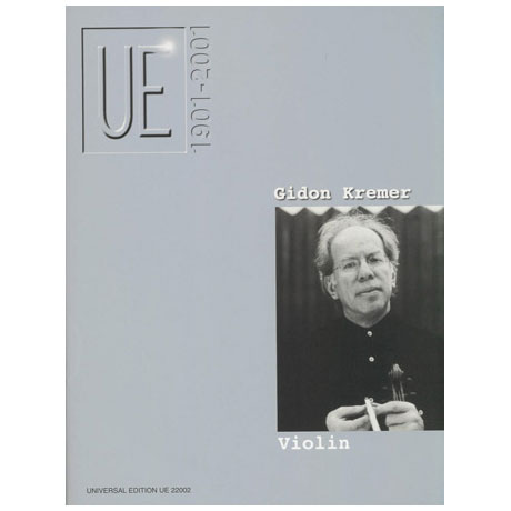 UE Jubiläum – Violin: Kremer,G.