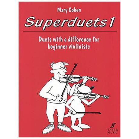 Cohen, M.: Superduets Book 1 – Violin