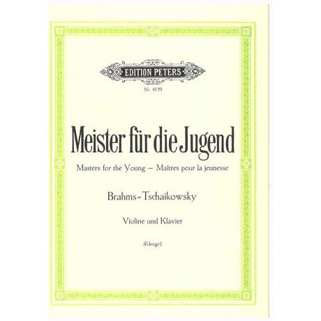 Meister für die Jugend Band 4 – Brahms, J. + Tschaikowski, P. I.