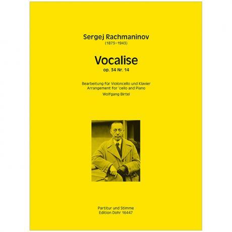 Rachmaninov, S.: Vocalise Op. 34/14