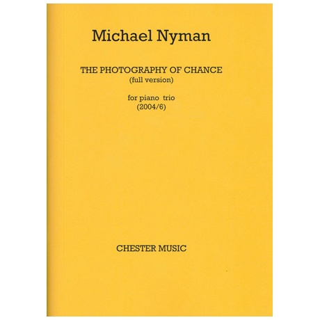 Nyman: The Photography of chance