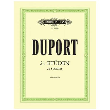 Duport, J.-L.: 21 Etüden