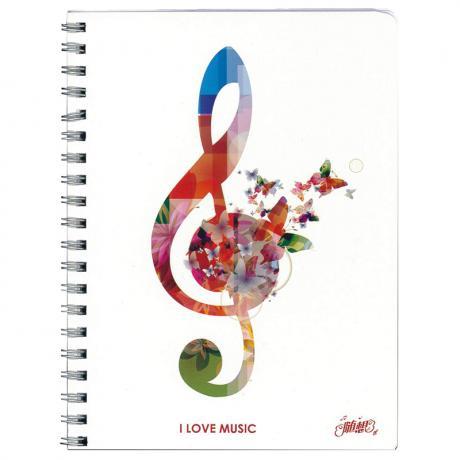 Ring-Notizbuch music