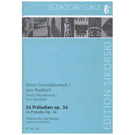 Schostakowitsch, D.: 24 Präludien Op. 34