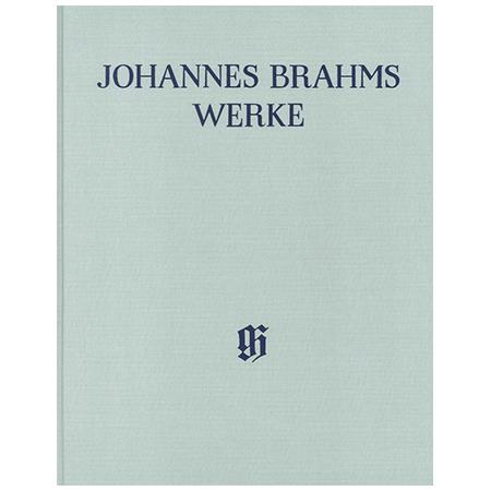 Brahms, J.: Bearbeitungen von Werken anderer Komponisten Band 2