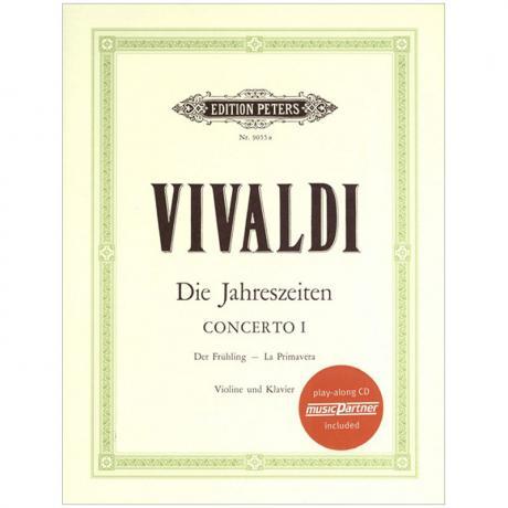 Vivaldi, A.: Die 4 Jahreszeiten Op. 8/1-4 (+CD)