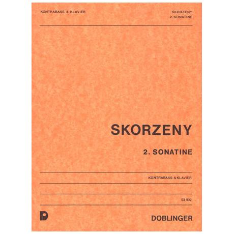 Skorzeny, F.: 2. Sonatine
