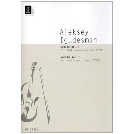 Igudesman, A.: Violinsonate Nr. 3