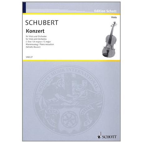 Schubert, J.: Violakonzert C-Dur