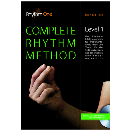 Filz, R.: Complete Rhythm Method – Level 1 (+DVD)