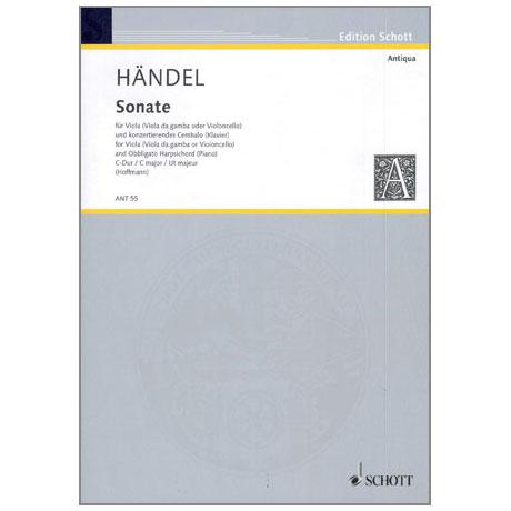 Händel, G.F.: Sonate mit konzertierendem Cembalo