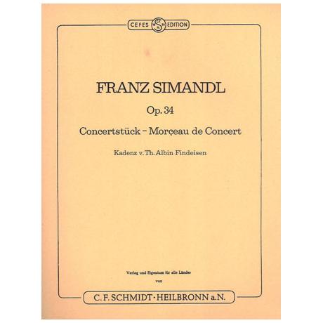 Simandl, F.: Konzertstück op.34